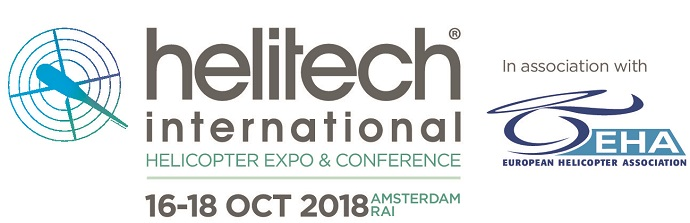 Helitech, Amsterdam from 16 to 18 October 2018