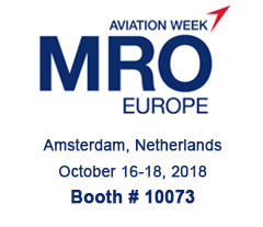 MRO Europe in Amsterdam from 16 to 18 October 2018